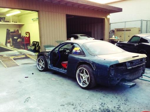 Garage Made S14 RRBODYWORKS paint prep