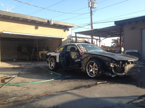 Garage Made S14 RRBODYWORKS paint primer
